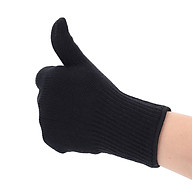 Straightener Gloves Hair Curler Gloves Comfortable 1pcs Black Woman Multi Function thumbnail