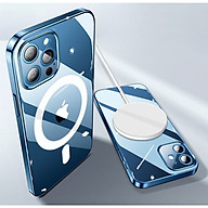 Ốp Lưng Case Magsafe Trong Suốt Dành Cho iPhone 12 mini iPhone 12 iPhone 12 Pro iPhone 12 Promax thumbnail
