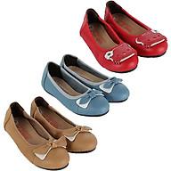 HP7860-61-62 - Giày trẻ em nữ Huy Hoàng da bò màu da, đỏ, xanh thumbnail