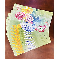 Combo 10 TẤM LÓT BÀN ĂN SWEET HOUSE (FLOWERS) thumbnail