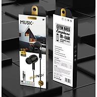 Tai nghe có dây nhét tai Viniel Extra Bass cho IPHONE IPAD SAMSUNG Android VEX64 - Hàng chính hãng thumbnail
