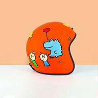 Mũ Bảo Hiểm 3 4 Đầu Nhiều Mẫu Tem Siêu Đẹp - Nón bảo Hiểm 3 4 Đầu Cao Cấp thumbnail