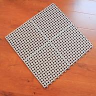 Tấm thảm nhựa ghép cao cấp chống trơn trượt nhà tắm (1 miếng 30x30cm) màu ngẫu nhiên thumbnail