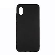 Ốp lưng Xiaomi Mi 7 silicone TPU dẻo đen chống bám vân tay - Hàng Chính Hãng thumbnail