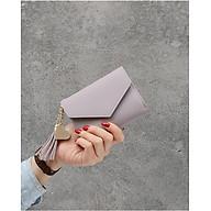 Ví nữ ngắn mini cầm tay kiểu dáng Hàn Quốc thumbnail