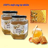 Mật ong tự nhiên 900 ml - Mật ong hoa nhãn rừng nguyên chất, mật ong hoa nhãn 100% tự nhiên, giúp bồi bổ cơ thể, tăng cường đề kháng thumbnail