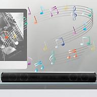 BS-10 BT5.0 Wireless Speaker Built-in 2000mAh Lithium Battery Dual Speaker Support TF USB AUX RCA Player FM MP3 HiFi thumbnail