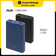 Pin sạc dự phòng 7500 mAh AVA DS630 - Hàng chính hãng thumbnail