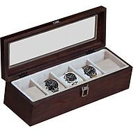 Hộp đựng đồng hồ 5 ngăn Nhatvywood WB501 thumbnail