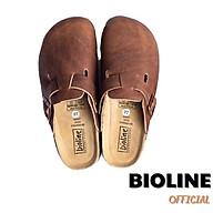 Dép sục birken da bò thật cao cấp dép bít mũi Bioline unisex - Bioline Official thumbnail