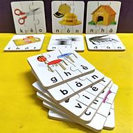 Xếp hình đơn giản cho bé 2 tuổi, ghép puzzle 3-4 mảnh, ghép hình học chữ Tiếng Việt thumbnail