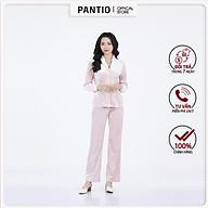 Bộ đồ ngủ chất liệu nhung mềm dáng dài BMN9019- PANTIO thumbnail