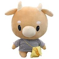 Gấu Bông Bò Chăm Chỉ Size 1m Đáng Yêu - GB10 thumbnail