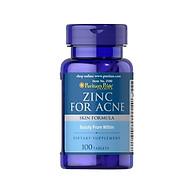 Thực phẩm bảo vệ sức khỏe Kẽm trị mụn - Zinc for Acne thumbnail