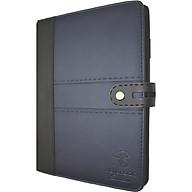 Sổ da khuy bấm 260 trang B5 Klong Bureau - TP345 màu xanh tím than thumbnail