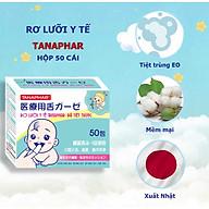 Combo 2 hộp rơ lưỡi trẻ em y tế Tanaphar chất liệu mềm mại an toàn cho trẻ sơ sinh - 50 cái hộp thumbnail