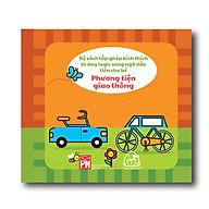 Sách vải song ngữ Anh - Việt - Mix & match - Phương tiện giao thông ( Từ 1-3 tuổi) thumbnail