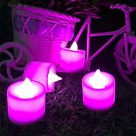 Combo 10 đèn nến điện tử bóng led trang trí nhà cửa, sinh nhật lễ tình nhân, lãng mạn (kèm pin) thumbnail