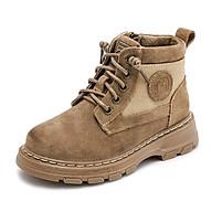 Giày da trẻ em nam nữ mùa thu mùa đông phiên bản Hàn Quốc mã AJ07 thumbnail