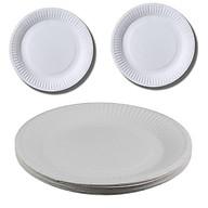 Set 22 đĩa giấy rộng 18cm dùng cho các buổi liên hoan picnic tiện lợi tặng 2 zipper 10cm thumbnail