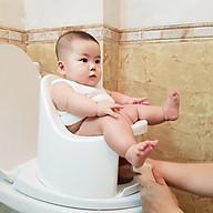 Bô rửa vệ sinh đa năng cho bé từ 7 tháng đến 4 tuổi Boom Potty - Màu Trắng thumbnail