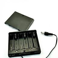 Hộp chuyển đổi 6 pin tiểu AA 1.5V thành nguồn 9V thumbnail