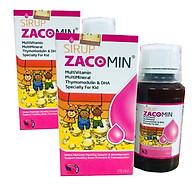 Thực phẩm bảo vệ sức khỏe Sirup Zacomin 75ml (2 hộp) thumbnail