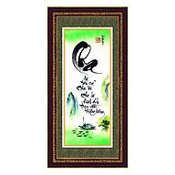 Tranh chữ Cha thư pháp khung Thế Giới Tranh Đẹp TPT-30x60-1 thumbnail
