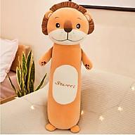 Gấu bông gối ôm hình sư tử đáng yêu size 60cm thumbnail
