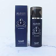 Sữa dưỡng ẩm trắng sáng da cho nam Grinif All in One 4 Gentleman 120ml thumbnail