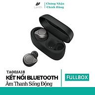 Tai Nghe Bluetooth True Wireless Lanith 75T Kèm Hộp Sạc Kiêm Sạc Dự Phòng Thời gian sử dụng lên tới 7.5h - Hàng nhập khẩu TA00JA1 thumbnail