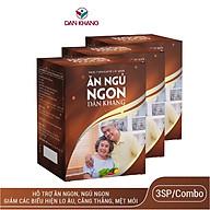 Combo 3 Thực Phẩm Chức Năng Dân Khang Pharma - Viên Uống Ăn Ngủ Ngon Dân Khang, Hỗ Trợ Cải Thiện Giấc Ngủ thumbnail