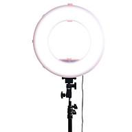 Đèn Led Ring MD250P 3200-7500K Màu Hồng 14 inch có đế gắn pin thumbnail