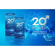 20 Power Viên Uống Tăng Cường Sinh Lý Nam Giới (hộp 60 viên) thumbnail