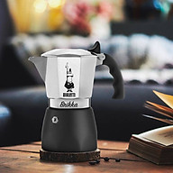 Ấm pha cà phê đời mới Bialetti Brikka 2 cup. Hàng Chính hãng thumbnail