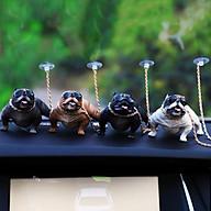 Mô hình trang trí chó Pitpull siêu ngầu - siêu sang - siêu độc thumbnail