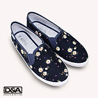 Giày slipon nữ thời trang D&A L1727 xanh chàm thumbnail