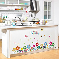 Decal dán tường hình hoa đầy màu sắc cho bé XK7079 thumbnail