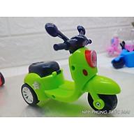 Đồ chơi trẻ em mô tô Xe máy mini chạy cót 3 bánh dễ thương nhiều màu sắc thumbnail