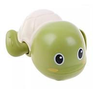 Đồ chơi cho bé - Combo 2 đồ chơi rùa bơi chạy bằng cót cho bé (màu trắng xanh ) thumbnail