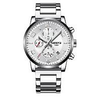 Đồng hồ thời trang công sở nam NIBOSI chính hãng NI2328.02 (Phụ kiện thời trang) fullbox, chống nước - chạy full 6 kim, mặt kính Mineral, dây hợp kim cao cấp không gỉ thumbnail