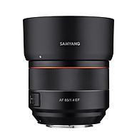 Ống kính SAMYANG AF 85MM F 1.4 CANON EF - Hàng chính hãng thumbnail