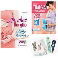 Combo Âm Nhạc Thai Giáo - Càng Nghe Càng Thông Minh + Thai Giáo Theo Chuyên Gia 280 Ngày + Tặng Kèm Bookmark PĐ thumbnail