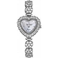 Đồng hồ nữ chính hãng Royal Crown 3595 dây đá vỏ trắng thumbnail