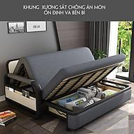 Giường Ngủ Kiêm Ghế Sofa 1m90 x 1m61 Kèm Ngăn Chứa Đồ Đa Năng - Giường Sofa Gấp Gọn Khung Thép Cường Lực Cao Cấp Giường Sofa Đa Năng Gấp Gọn Thành Ghế thumbnail