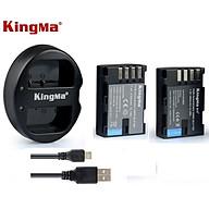 Bộ pin sạc Kingma for Panasonic DMW-BLF19( có bán rời) - Hàng chính hãng thumbnail