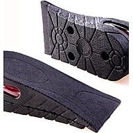 Lót Giày Tăng Chiều Cao Không Khí Nửa Bàn 2 Lớp (5cm) - Đen thumbnail