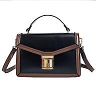 Túi xách tay đeo chéo nữ thời trang T50 phối 2 màu size 22x16x9cm thumbnail