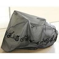 Bạt phủ xe máy, xe đạp loại lớn 210 x 100cm chuyên dụng cao cấp thumbnail