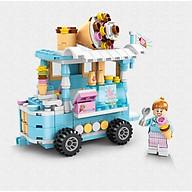 Bộ lắp ráp mini mô hình xe bán hàng thumbnail